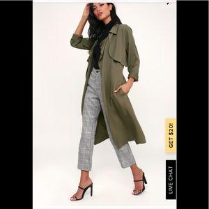 B.B. Dakota oversized draped trench coat 🧥